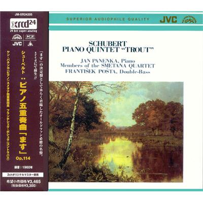 """金· 帕年卡 - 舒伯特:钢琴五重奏""""鳟鱼"""""""