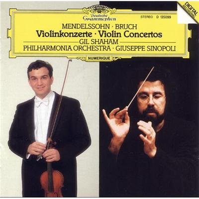 朱塞佩 辛诺波里 门德尔松 布鲁赫 小提琴协奏曲