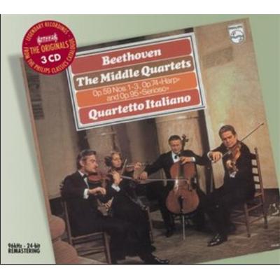 意大利四重奏乐团 贝多芬 中期弦乐四重奏