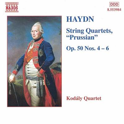 柯达伊弦乐四重奏团 海顿 弦乐四重奏Op. 50, No. 4 6