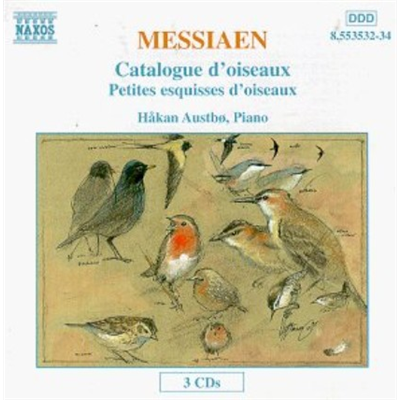 哈科恩 奥斯特伯 梅西安 小鸟素描小品 群鸟录