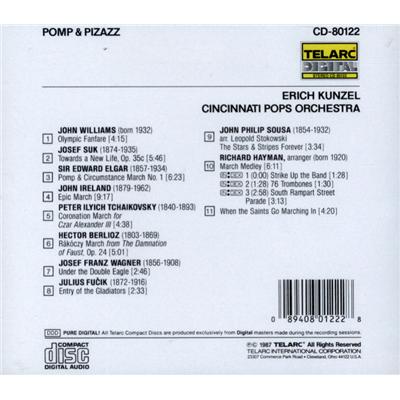 尔 华丽威猛的进行曲 Erich Kunzel Pomp Pizazz