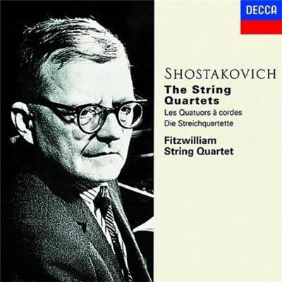 费兹威廉弦乐四重奏团 - 肖斯塔科维奇:弦乐四重奏集