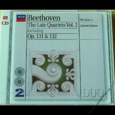 贝多芬 - 晚期弦乐四重奏 2
