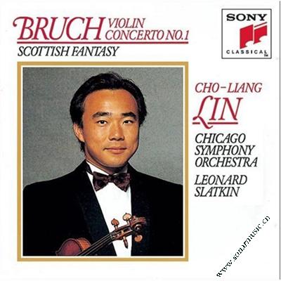 林昭亮 芝加哥交响乐团 布鲁赫 第一小提琴协奏曲,苏格兰幻...
